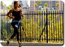 Необычный магазин Adidas для любителей бега