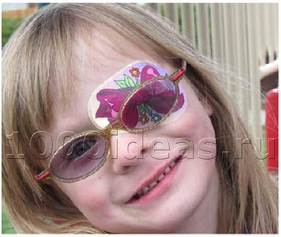 Глазные стикеры для детей