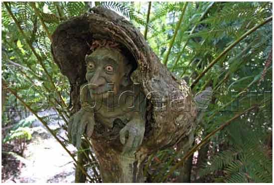 Волшебный сад в лесах Австралии