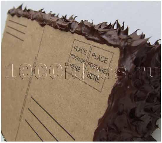 Вкусные почтовые открытки