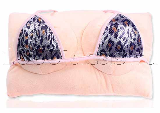 Подушка в бикини в подарок ловеласу