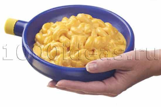 Охлаждающие еду тарелки и варежки от микробов