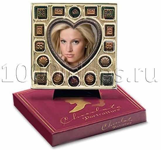 Съедобные шоколадные фотографии