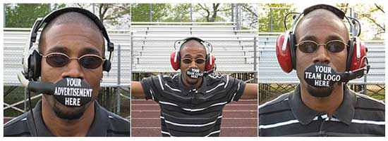 Идея № 2075. Микрофон, закрывающий губы спортивных тренеров