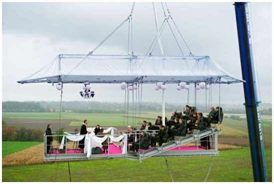 Идея № 2079. Свадьба в облаках
