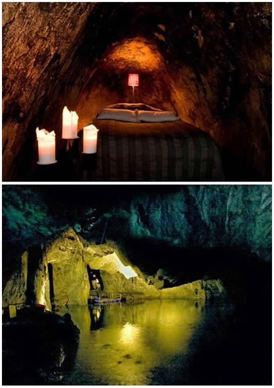 Идея № 2087. Подземный отель
