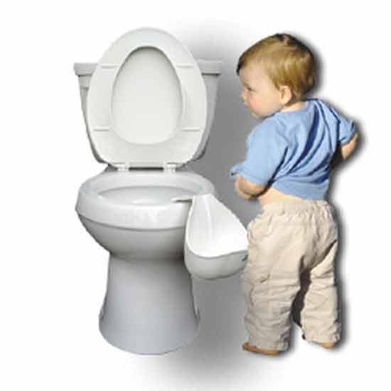 Идея № 2073. Туалетный тренажер для мальчиков