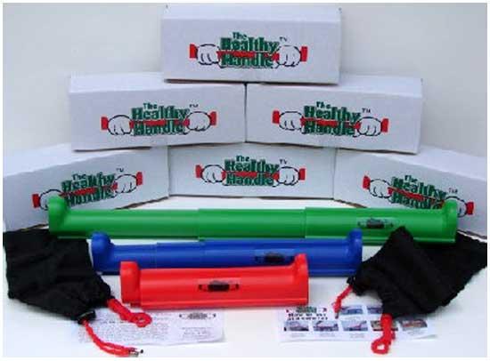 Идея № 2125. Защитный рукав на ручки тележек супермаркетов