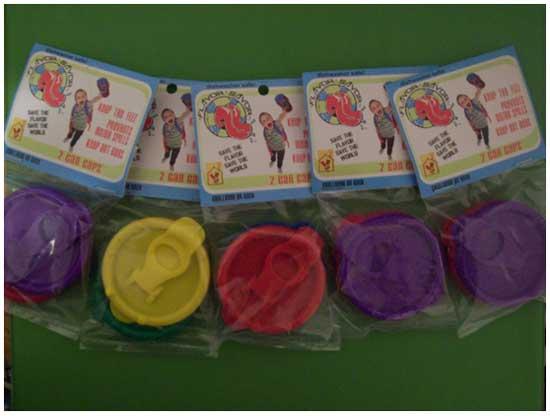 Идея № 2123. Пластиковые крышки на жестяные банки
