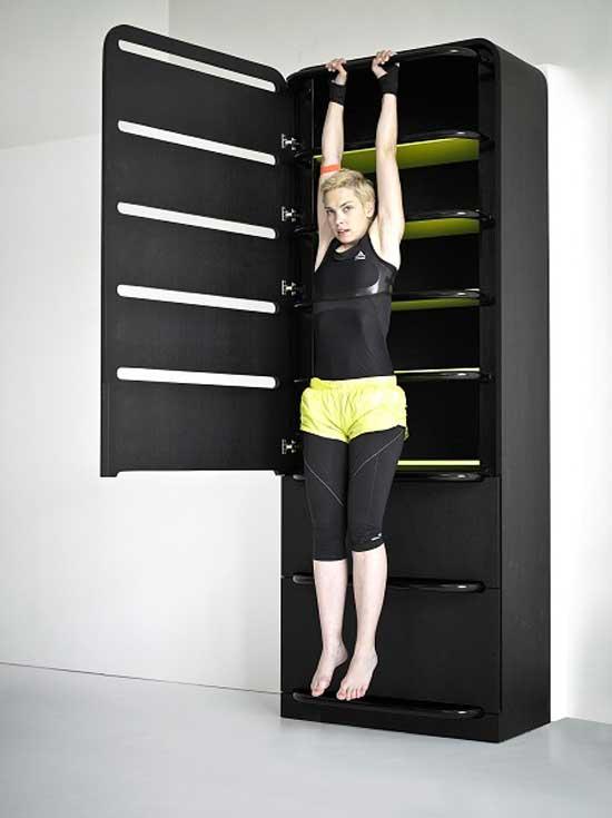 Молодой чешский дизайнер Люси Колдова (Lucie Koldova) придумала «спортивную мебель 2 в 1».