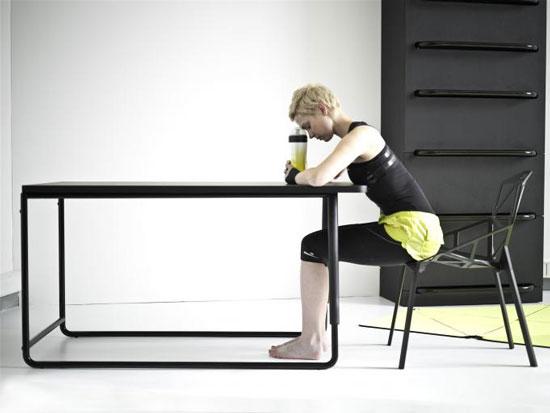 Проект мебель и тренажеры - 2 в 1 получил название Home Fitness – многофункциональная фитнес-система.