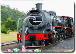 Необычный поезд-пылесос