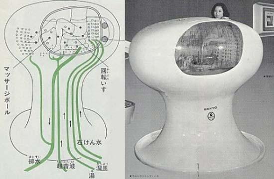 Разработчики из всемирно известной компании Sanyo разработали стиральную машину для человеческого тела. Проект получил название Ultrasonic Bath.