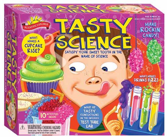 Компания Scientific Explorer (Научный обозреватель) придумала для юных любопытных варвар съедобный игровой набор.