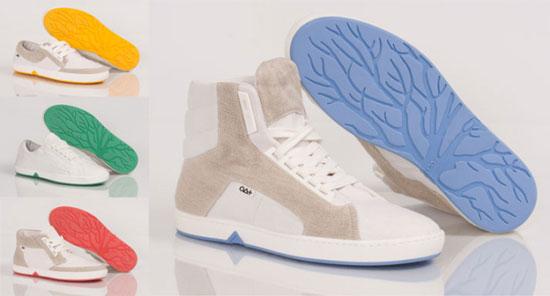 Обувная компания OAT SHOES стала производить экологичную обувь из «дружественных природе» материалов, которые с легкостью будут переработаны силами самой природы, т.е. «зеленую» обувь можно использовать как самое настоящее удобрение.