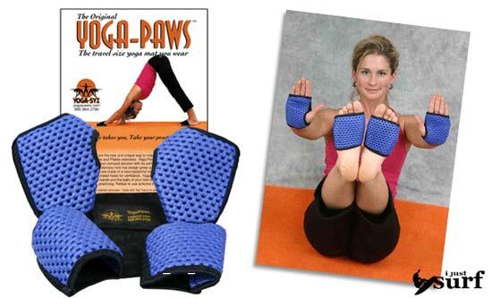 Инструктор йоги с 30-летним стажем Гейл Гетцвиллер (Gail Getzwiller) и ее дочь Джеми (Jamie Getzwiller) изобрели носки для йоги.