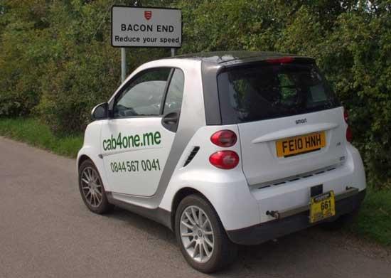 В столице Англии Лондоне был запущен экологичный проект городского такси. Проект получил название Cab 4 one (Такси для одного).