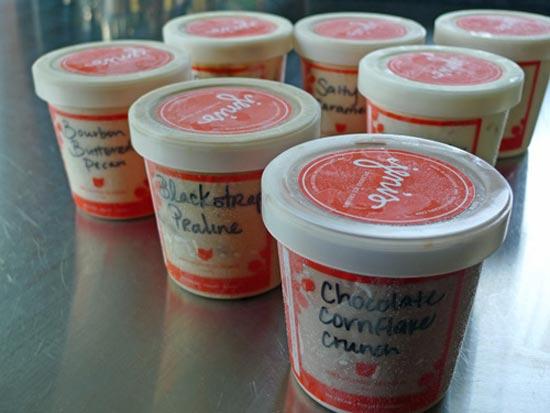На настоящий момент компания Дженни Бриттон Байер (Jeni Britton Bauer) по производству необычного мороженого Jeni's Splendid Ice Creams держит десятки магазинов, и продает свыше 100 тысяч порций мороженого необычных вкусов.