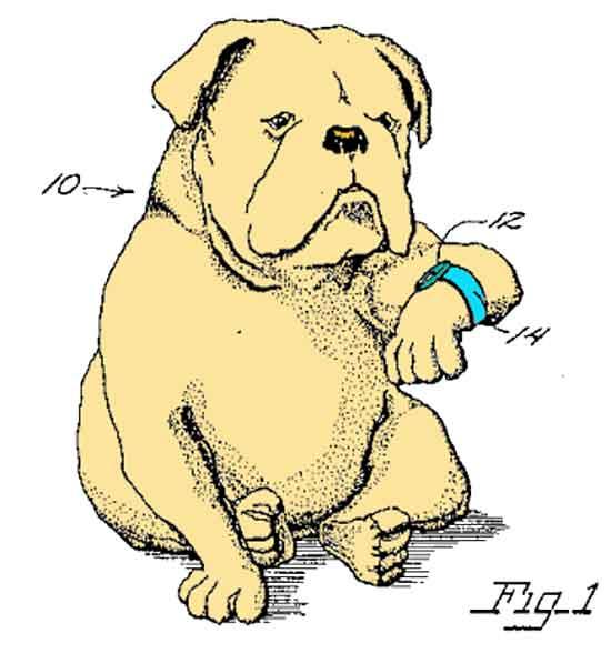 Американский изобретатель придумал и запатентовал часы для собак - Dog Watch, с одной единственной целью -  узнать сколько времени прожила ваша собака.