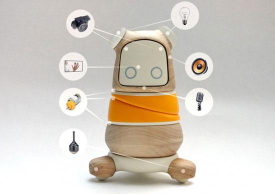Шведский студент Линус Сандблад (Linus Sundblad) разработал милого робота по имени Kompis для заболевших детей.