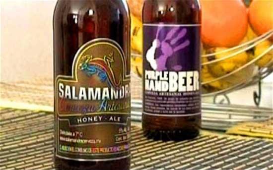 Небольшая пивоварня Minerva из Мексики вывела на рынок новый пивной бренд Salamandra и Purple Hand, который позиционируется как пиво для гомосексуалистов.