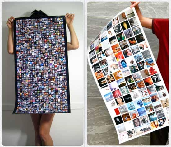 Креативная компания Social Print Studio решила создать небольшой, но оригинальный бизнес, связанный с повальным использованием социальных сетей.