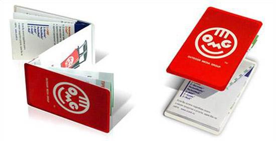Наконец было найдено поистине гениальное решение — как избавить печатные рекламные буклеты от привкуса спама и заставить потребителя хранить их у себя в личных вещах вечно, решение получило коммерческое имя — Z-Cards