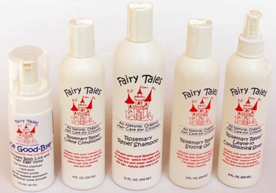 Риза Бараш (Risa Barash) придумала идею создания органического шампуня для профилактики вшей - компания Fairy Tales Hair Care .
