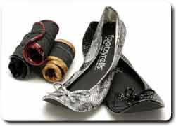 Бизнес идея № 2332. Удобная сворачиваемая обувь