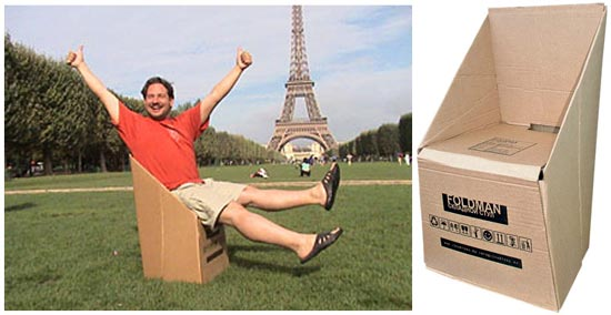 Михаил Редин придумал необычную идею бизнеса - мебель из картона.