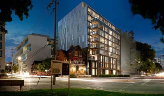 В Торонто (Канада) появился необычный многоквартирный дом, легко меняющий планировку.
