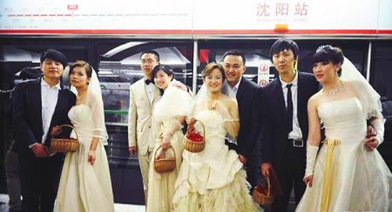Пока  свадьба в метро - это единичный случай, но вполне возможно, компании, занимающиеся организацией празднеств, включат такой вид услуги, как организацию свадьбы в метро в свой список.