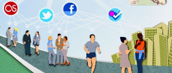 С помощью английского приложения для знакомств StreetSpark можно познакомиться с интересующими тебя людьми в социальных сетях.