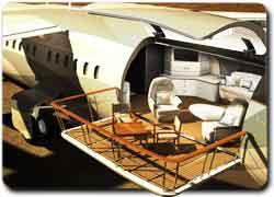 Бизнес идея № 1798. Самолет с балконом