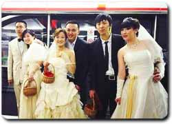 Бизнес идея № 2437. Свадьба в метро