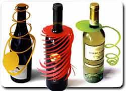 Бизнес идея № 2229. Новогодние украшения на бутылки