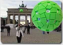 Панорамная камера в виде мяча