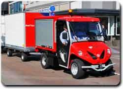 Экологический грузовик на солнечной энергии