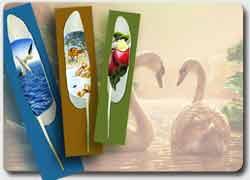 Рисунки на лебединых перьях Яна Дейви