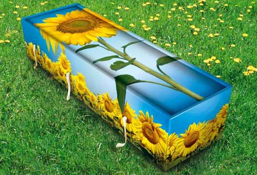 Креативные гробы не просто яркие и необычные, они еще и экологически безопасные.