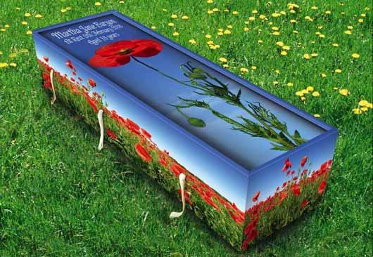 Из-за экономичного производства и недорогих материалов стоимость креативного гроба из экологичных материалов Creative Coffins невысока.