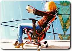 Бизнес идея № 2247. Офисное кресло – фитнес-тренажер