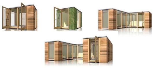 Британская компания «3rd Space» недавно выпустила на рынок свой новый продукт – модульные садовые беседки.