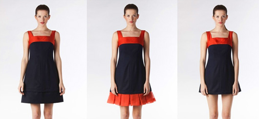 Польский бренд Blessus представил общественности свою новую капсульную коллекцию модулируемой одежды - платья-трансформеры.