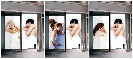 Партизанский маркетинг в действии: реклама от Axe