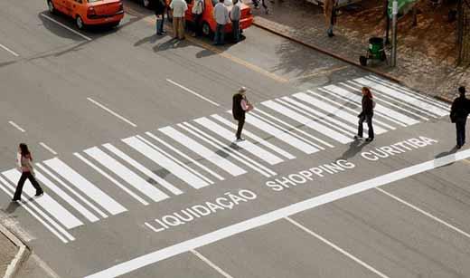 Реклама торгового центра Curitiba