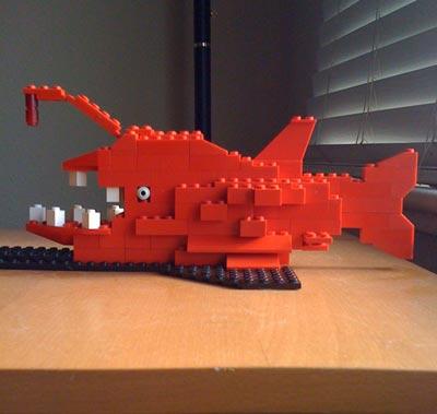 Креативное резюме при помощи Lego