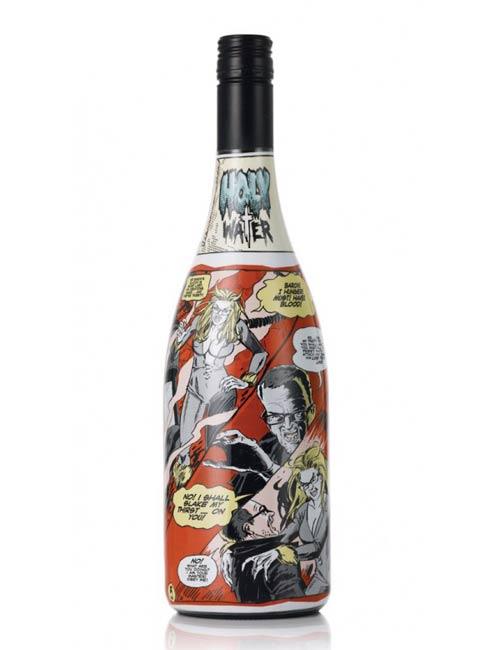 Комиксы на винных бутылках