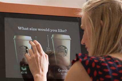Торговые автоматы Starbucks в Великобритании