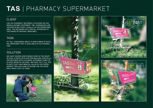 Креативная реклама аптечной сети